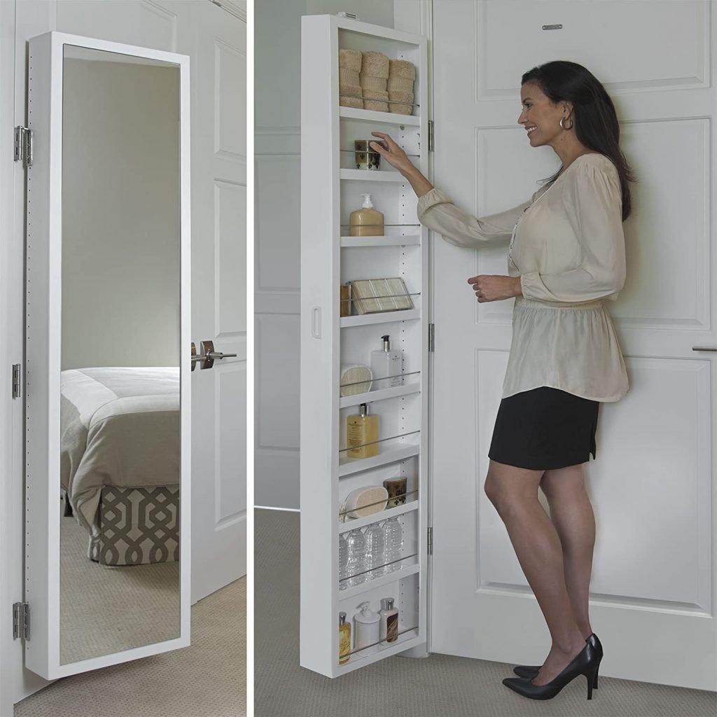 behind the door bathroom storage cabinet