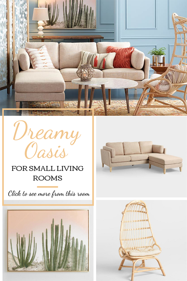 SMALL LIVING ROOM DECOR IDEAS