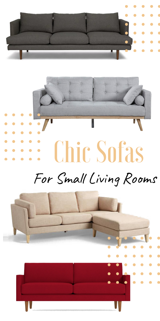the best sofas for a small living room