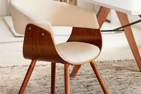 mid century modern chair furniture for small spaces