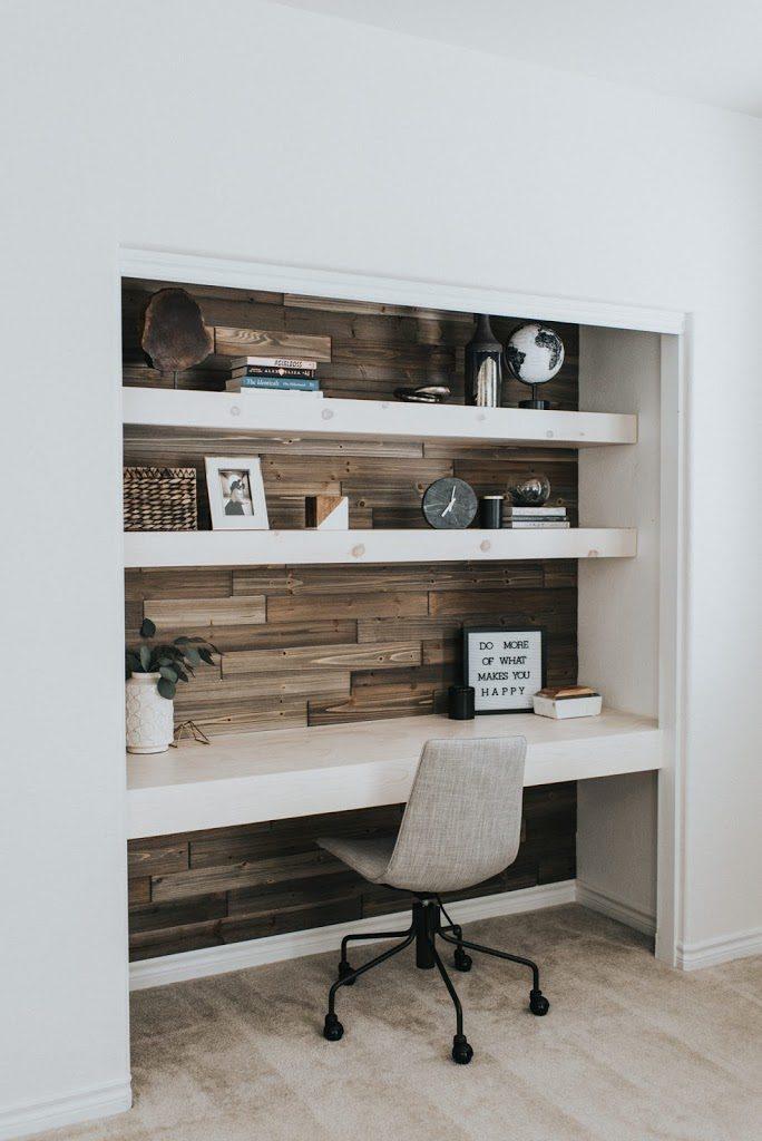 office in a closet cloffice
