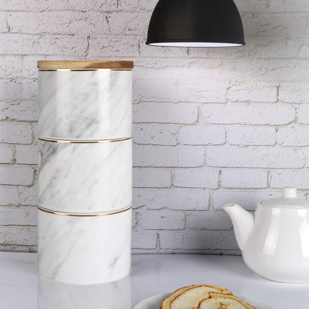 decorative storage for small kitchen stackable kitchen canisters