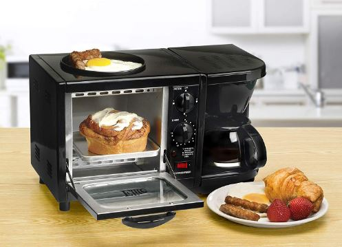 3 in 1 breakfast maker space saving kitchen products for small kitchens