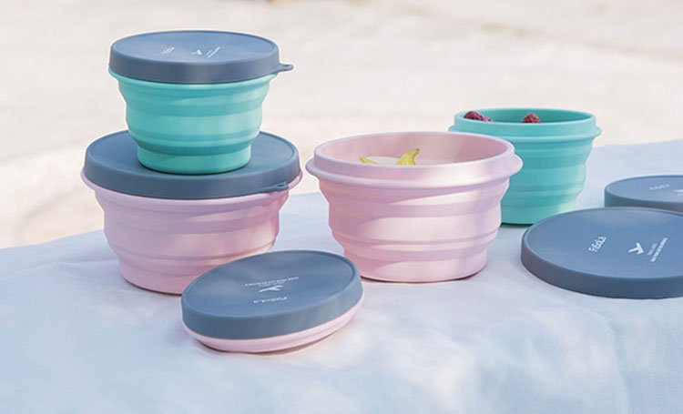 space saving collapsible food Containers