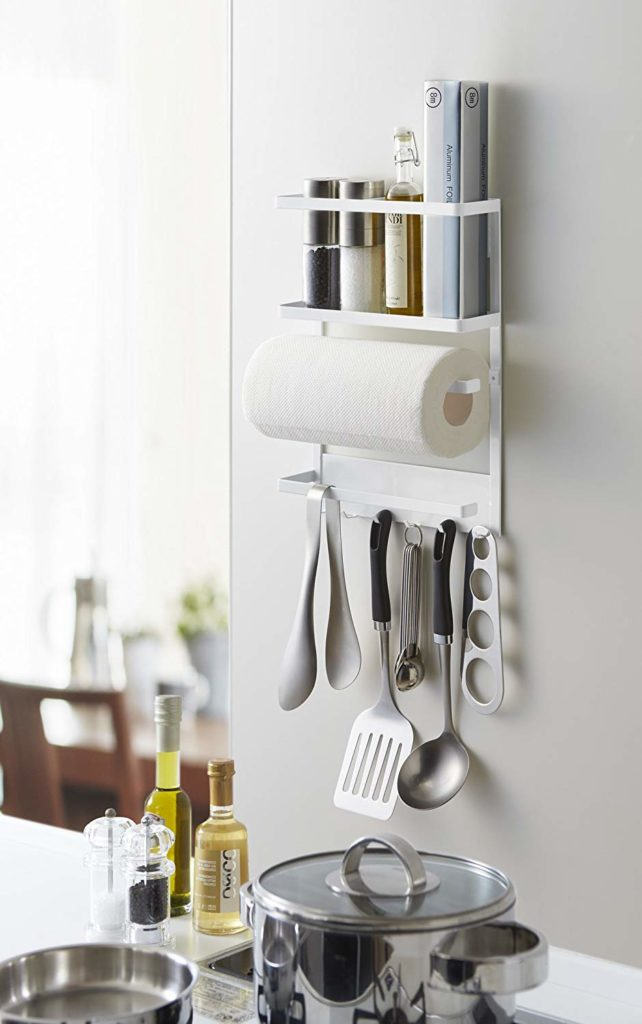 magnetic storage shelf for kitchen