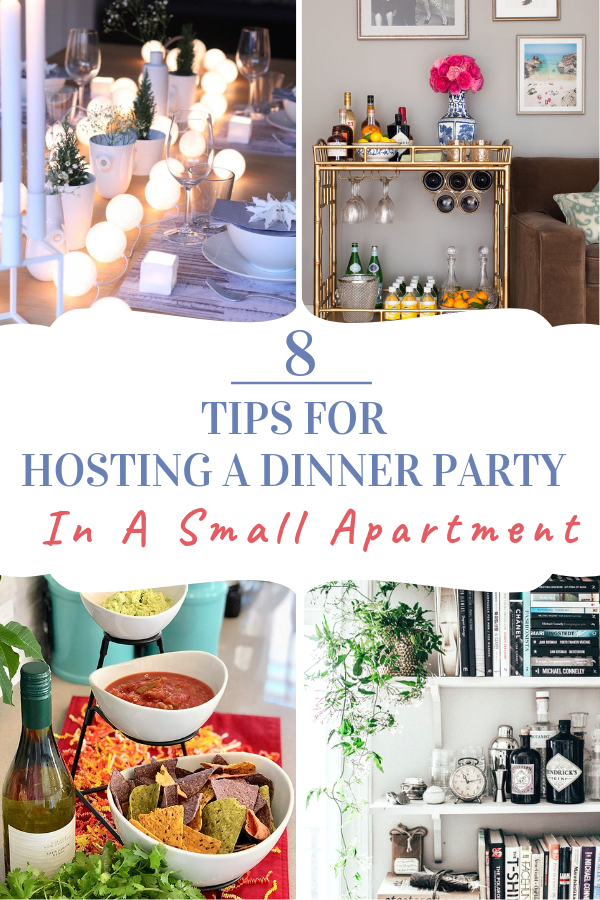 how to host a dinner party in a small apartment