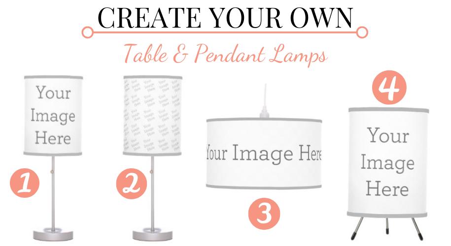 custom printed lamps