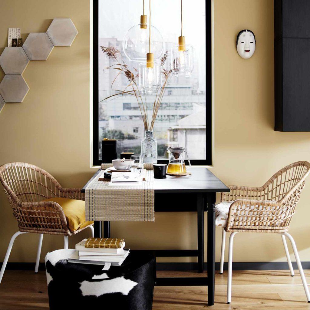 Ikea Nilsolve Rattan armchair