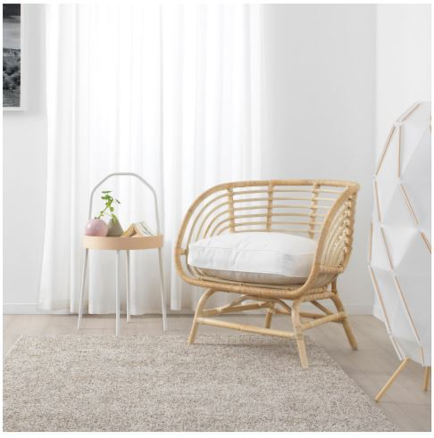Ikea Rattan armchair 2020 collection