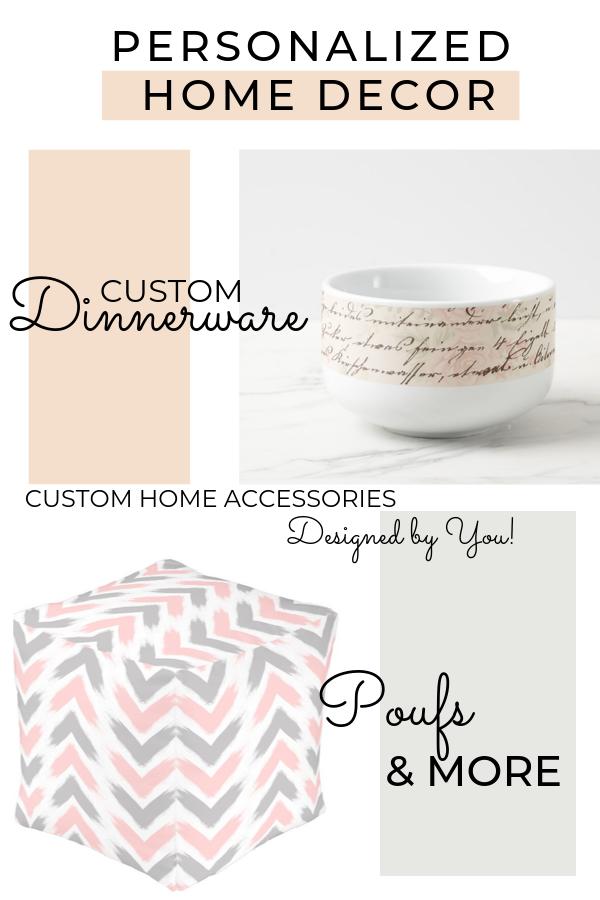 personalized home decor accessories