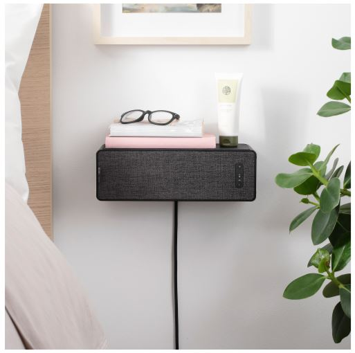 IKEA Nightstand and bookshelf wifi speaker small spaces