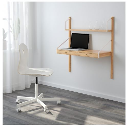 wall mounted desk and shelf unit ikea 2020 catalog