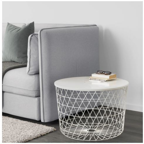 White ikea storage table small spaces 2020 collection