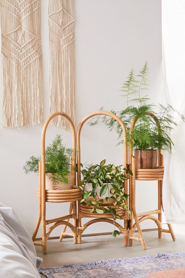 urban outfitters rattan planter stand