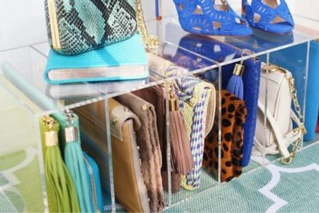 handbag storage ideas for small bedrooms