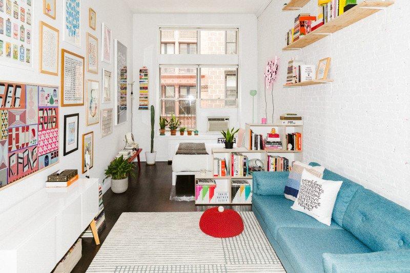 700 sq foot studio in maximalist design