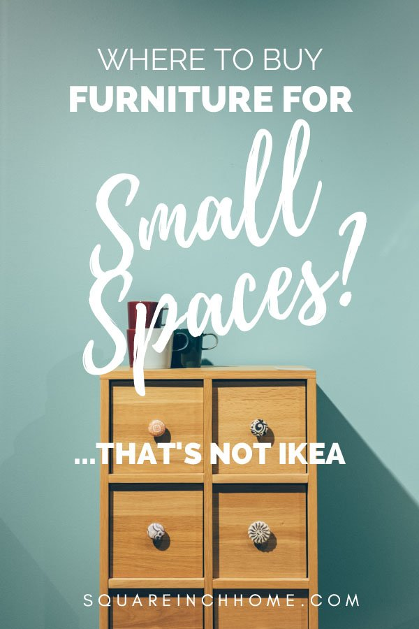 Where to buy furniture for small spaces pinterest