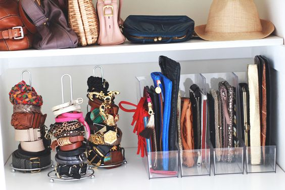 file organizers idea for storing handbags