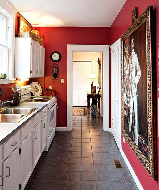 Bold Swoon Worthy Color Ideas For Small Kitchens