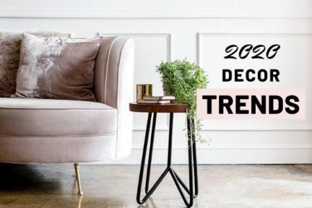 2020 decor trends