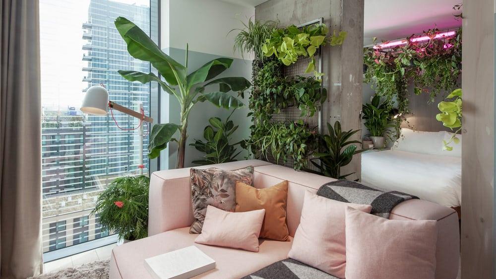 biophilic interior design trend 2020