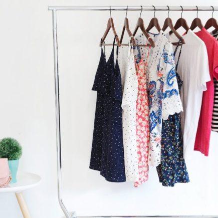 DIY closet for small bedrooms with no closet