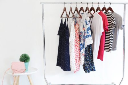 DIY closet for small bedrooms with no closet