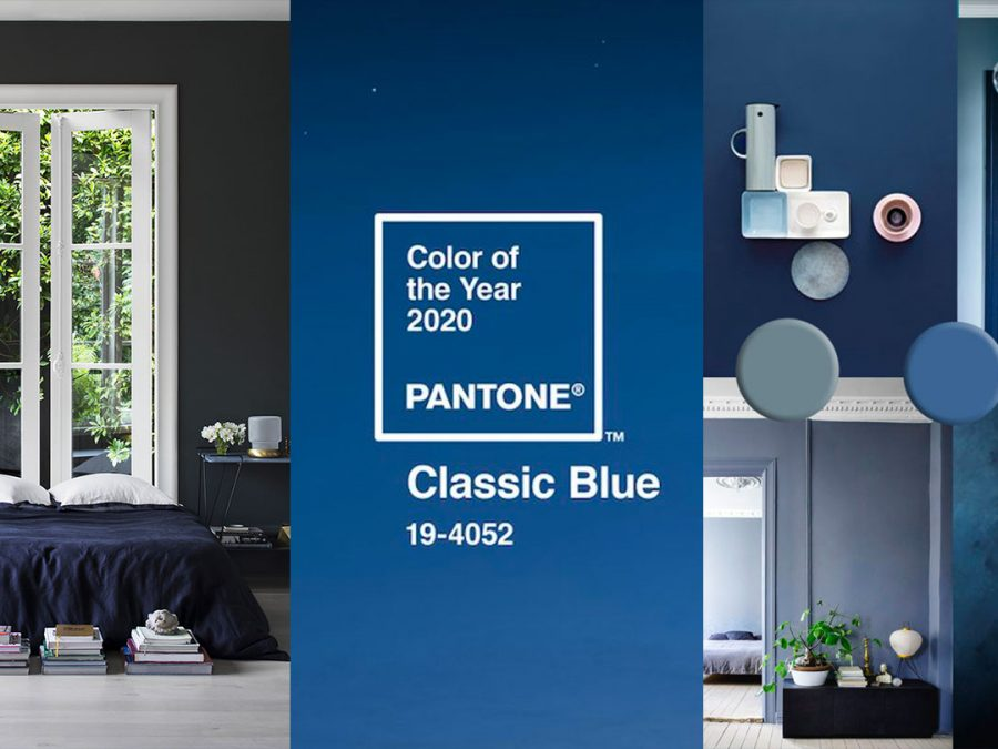 classic blue paint color trend for 2020