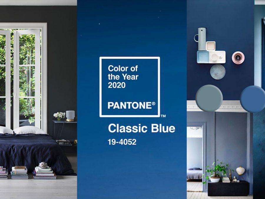 classic blue paint color trend for 2020