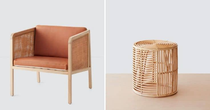 Natural sustainable furniture trend for 2020