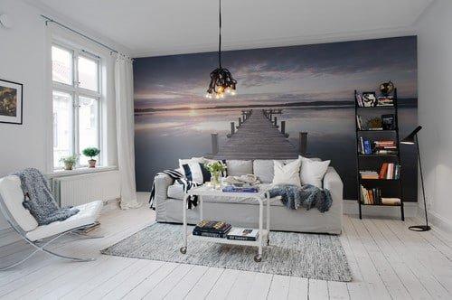 scenic wallpaper mural