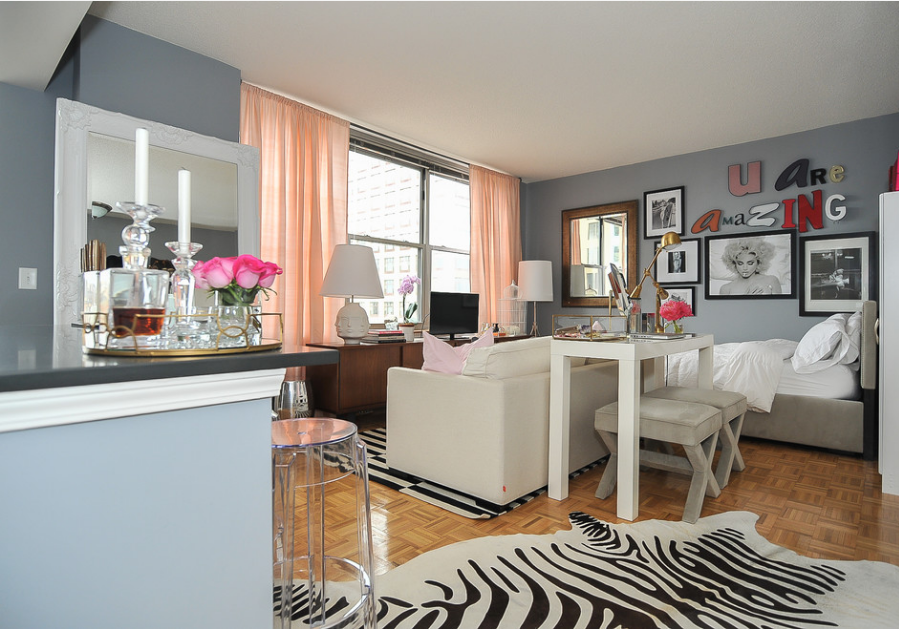 500 square feet studio apartment decor