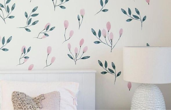 create an accent wall without paint