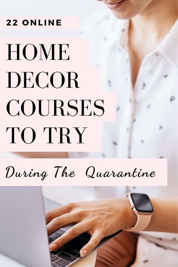 online home decor courses to try