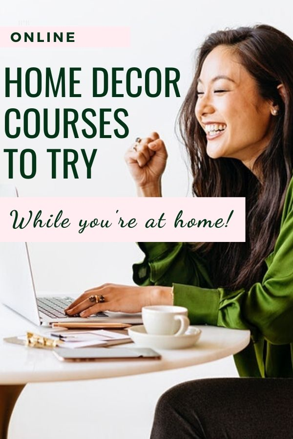 online home decor courses
