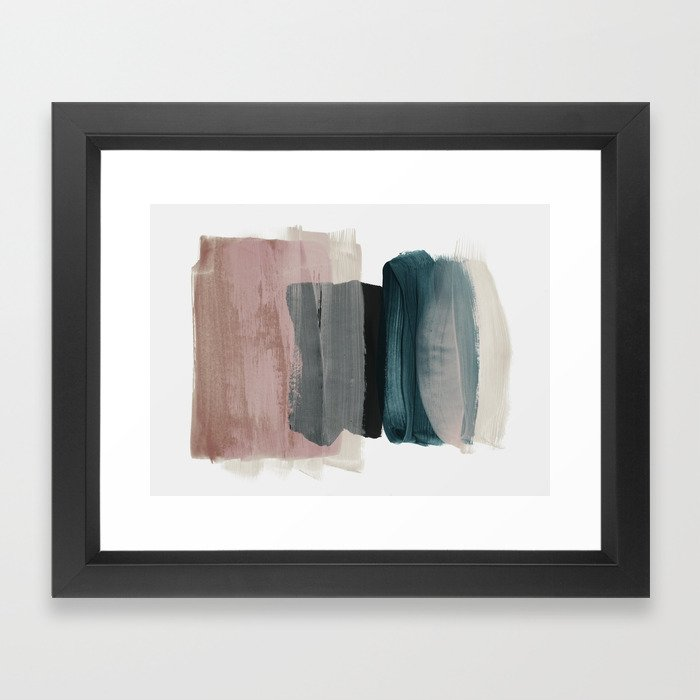 minimalism Framed Arte Print