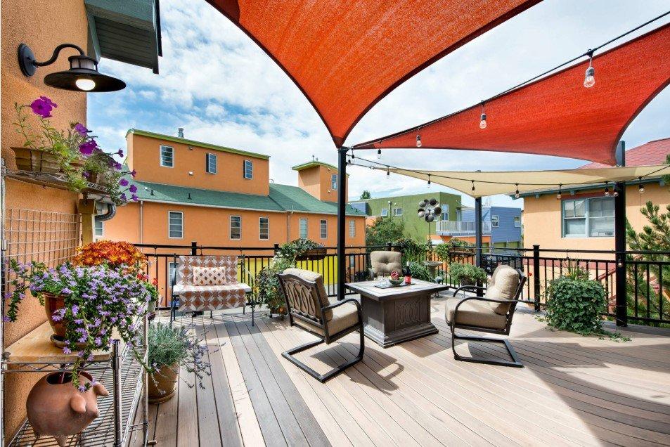studio apartment patio
