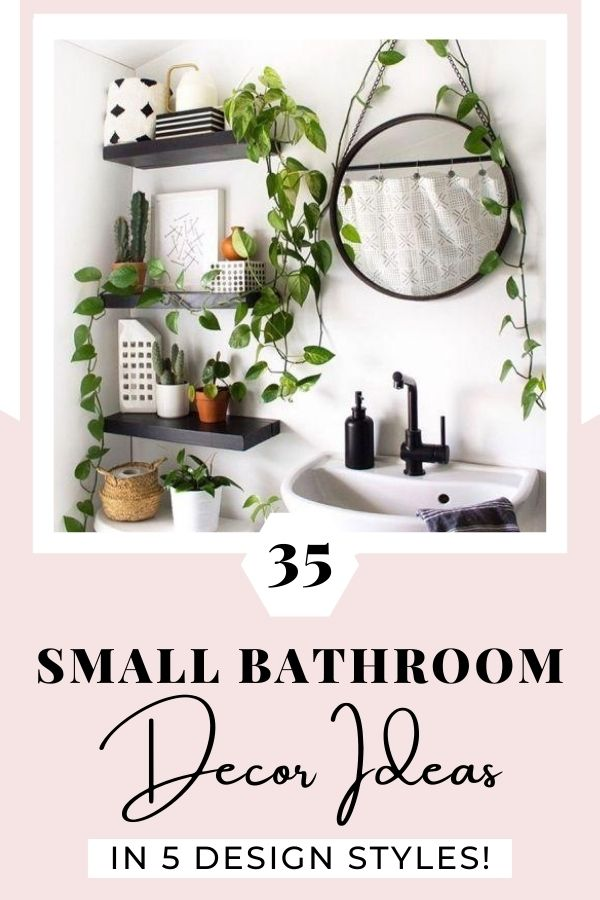 small bathroom decor ideas pinterest