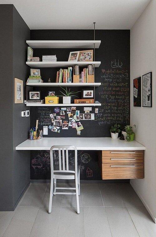 corner office nook at home