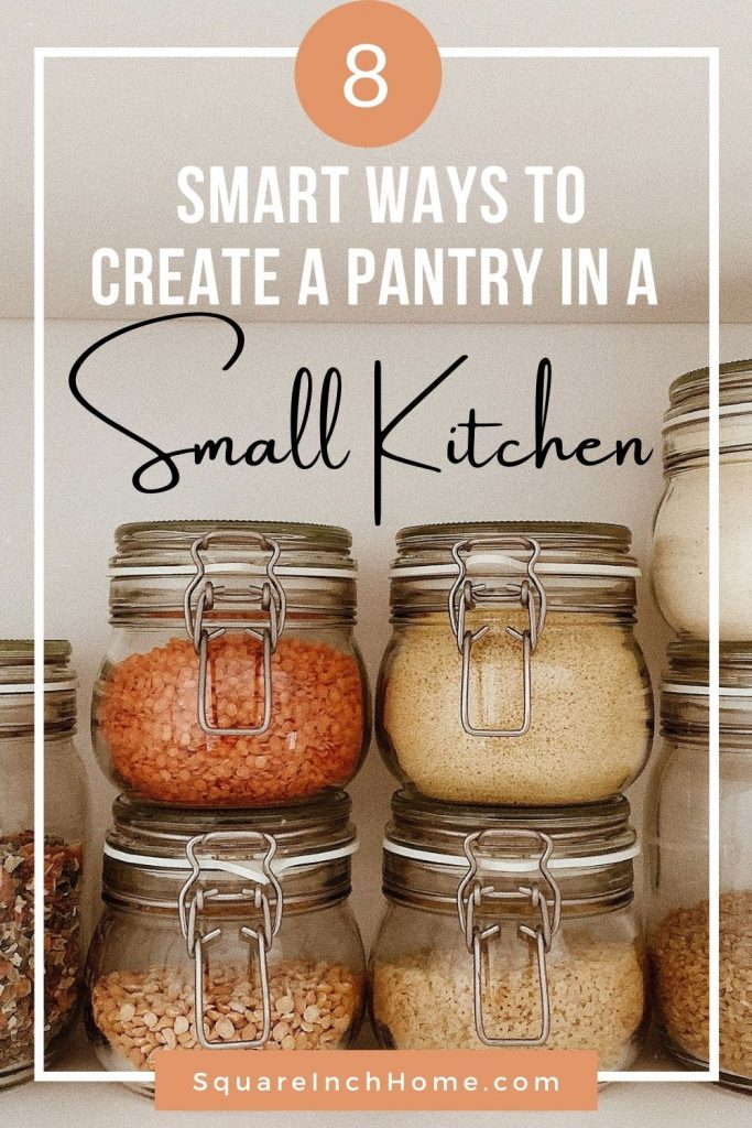 This Is How You Organize A Small Kitchen Without A Pantry
