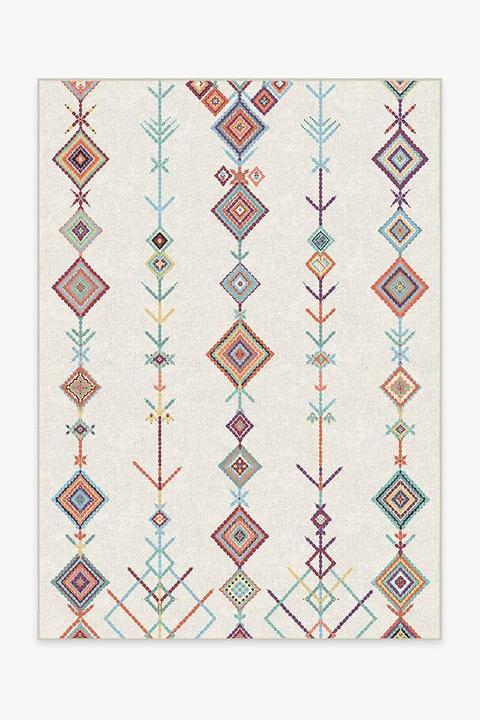 colorful bohemian machine washable rug