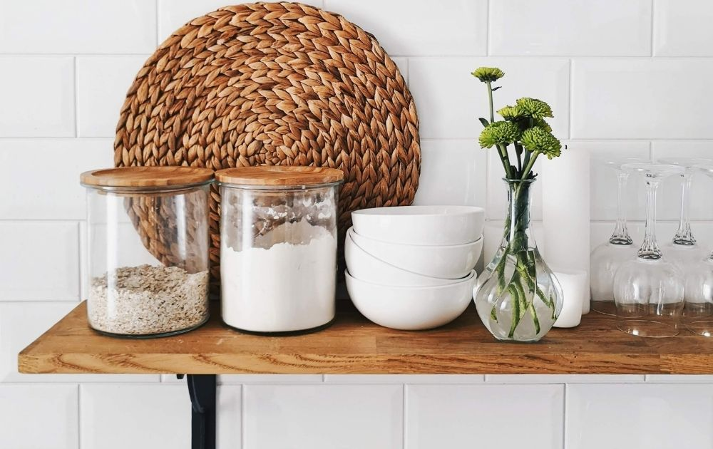 creating a pantry in a small kitchen