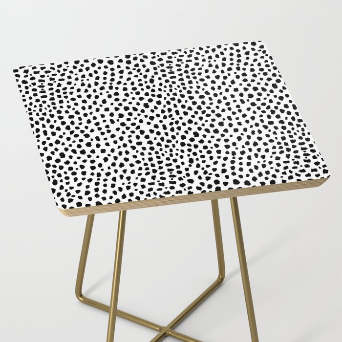 small polkadot bedside table