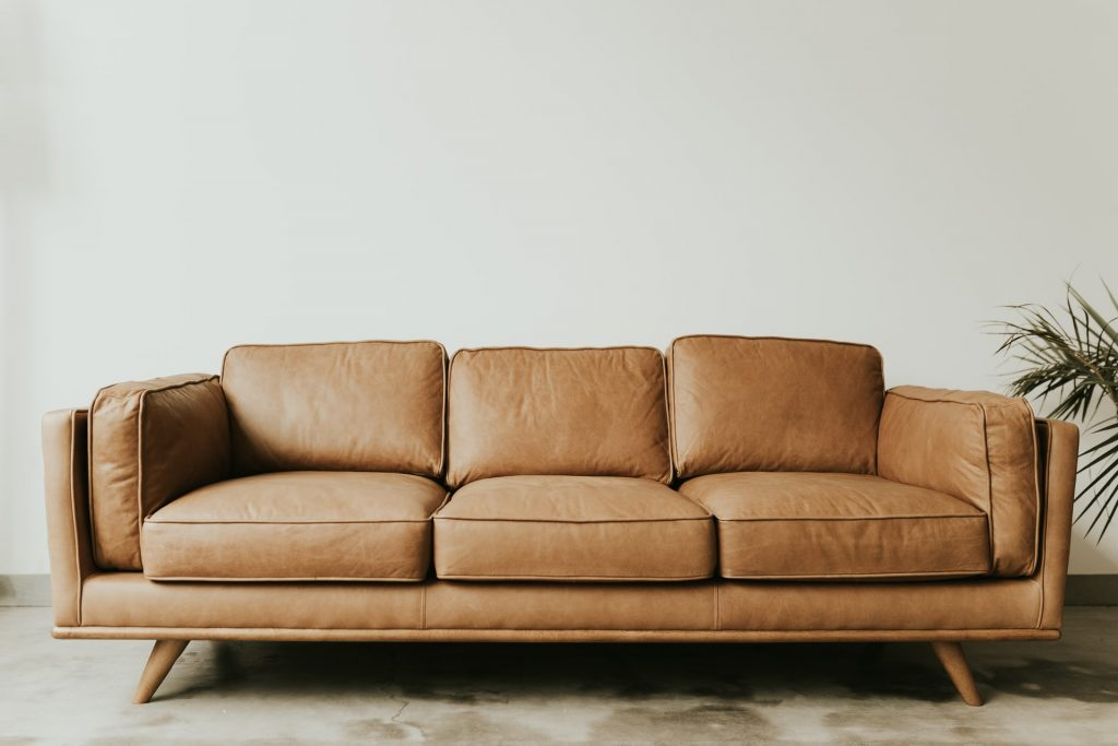 arranging furniture in a small living room