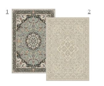 neutral parisian rug pairing