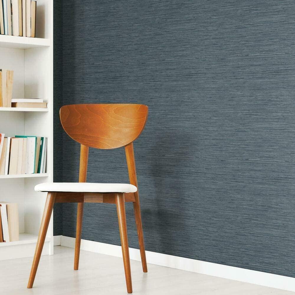 dark blue textured removable wallpaper