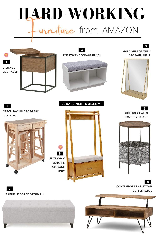 space-saving multifunctional furniture from amazon