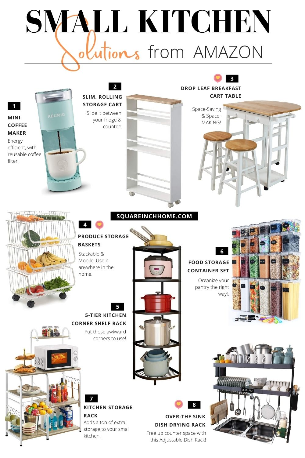 space-saving kitchen products from amazon