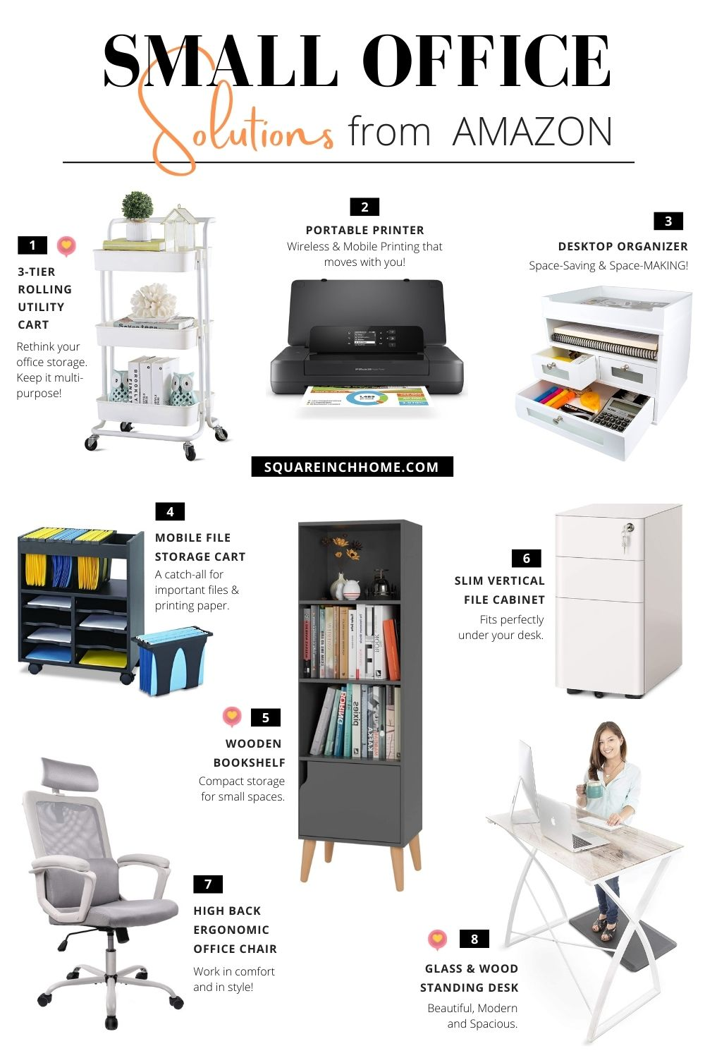 space-saving products for small office from amazon