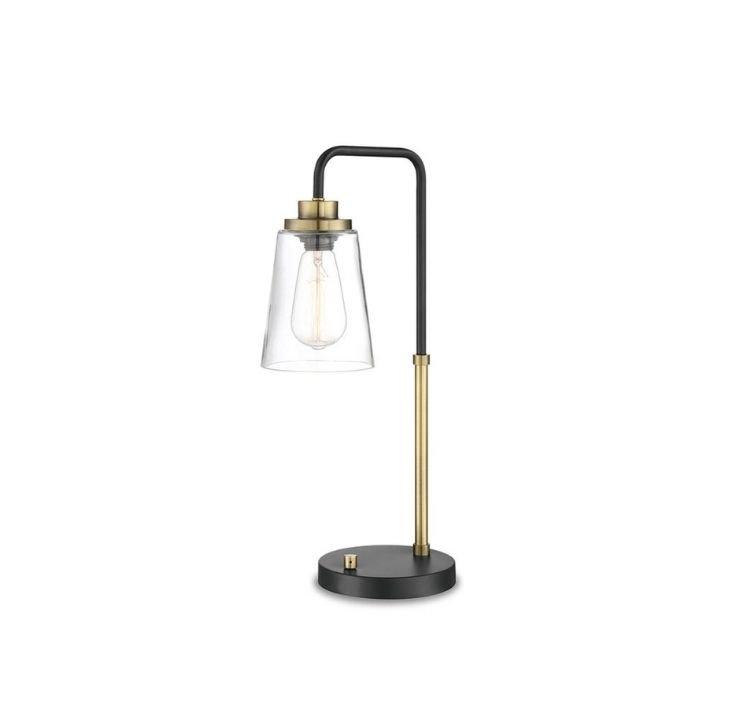 Gold & Black modern Table Lamp